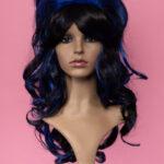 Marie Antoinette Black / Blue 1HBlue-0