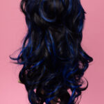 Marie Antoinette Black / Blue 1HBlue-5264