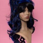 Marie Antoinette Black / Blue 1HBlue-5265