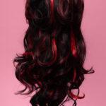 Marie Antoinette Black / Red 1HRed-5268
