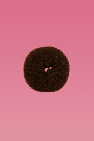 Hair Donut Brown Medium-0