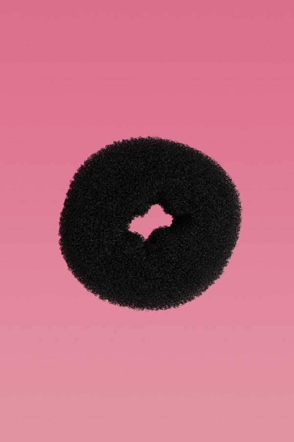 Hair Donut Black Large-0