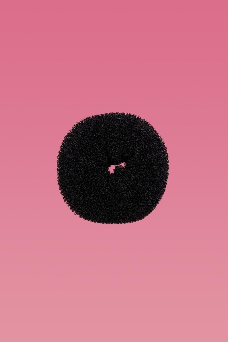 Hair Donut Black Medium-0